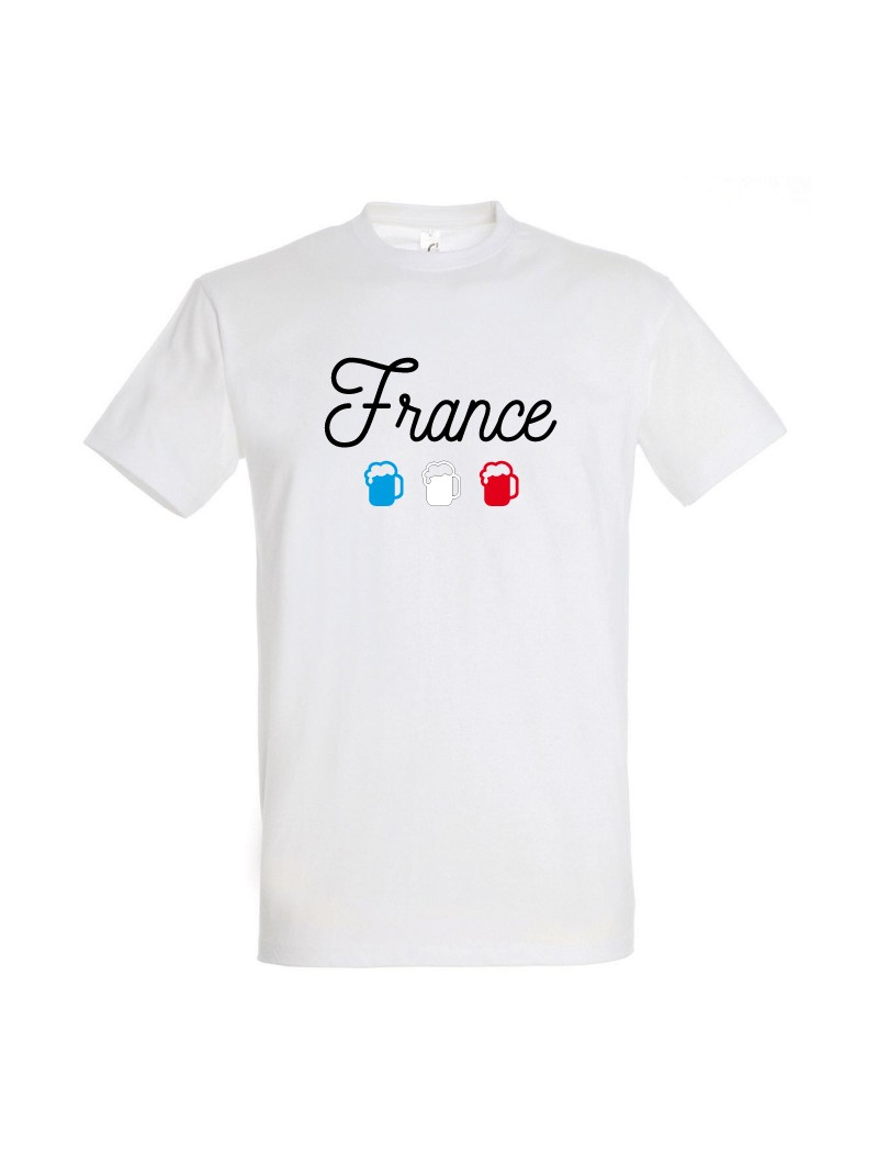 t shirt france coupe du monde de football. Black Bedroom Furniture Sets. Home Design Ideas
