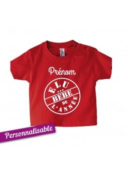 T-shirt bébé Elu bébé de. e0d74bff3cb