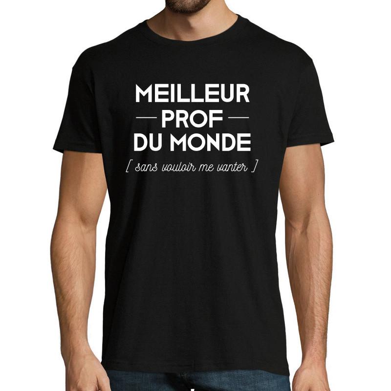 T-shirt Meilleur prof...