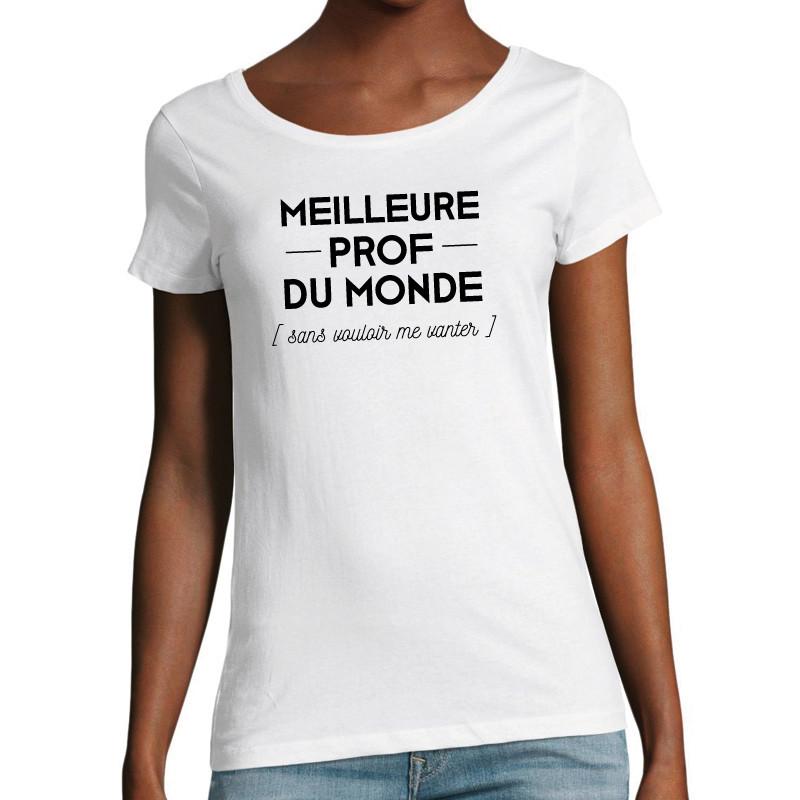T-shirt Meilleure prof...
