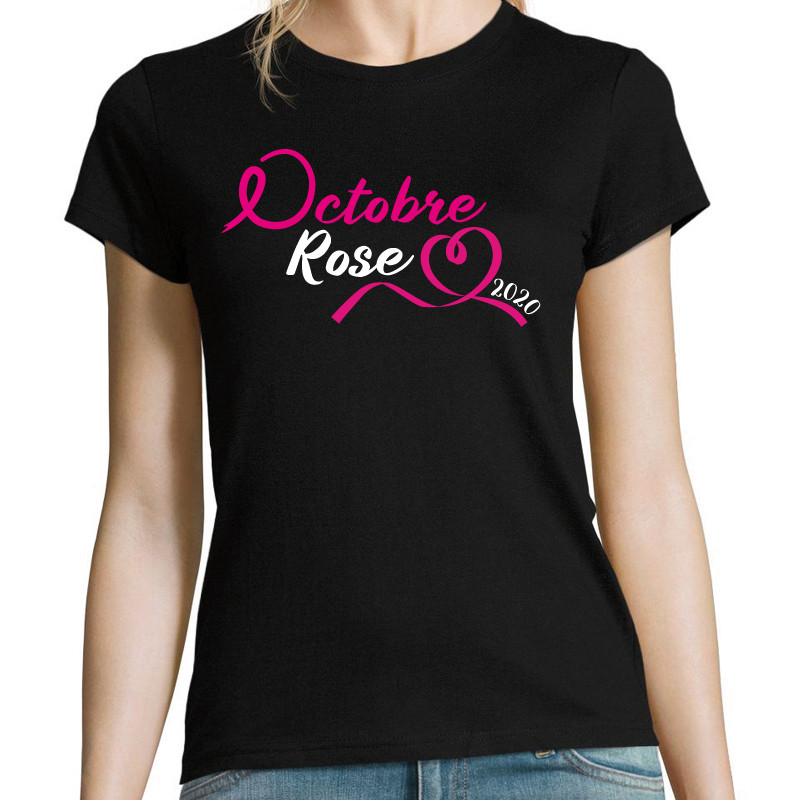 T-shirt Femme Octobre...