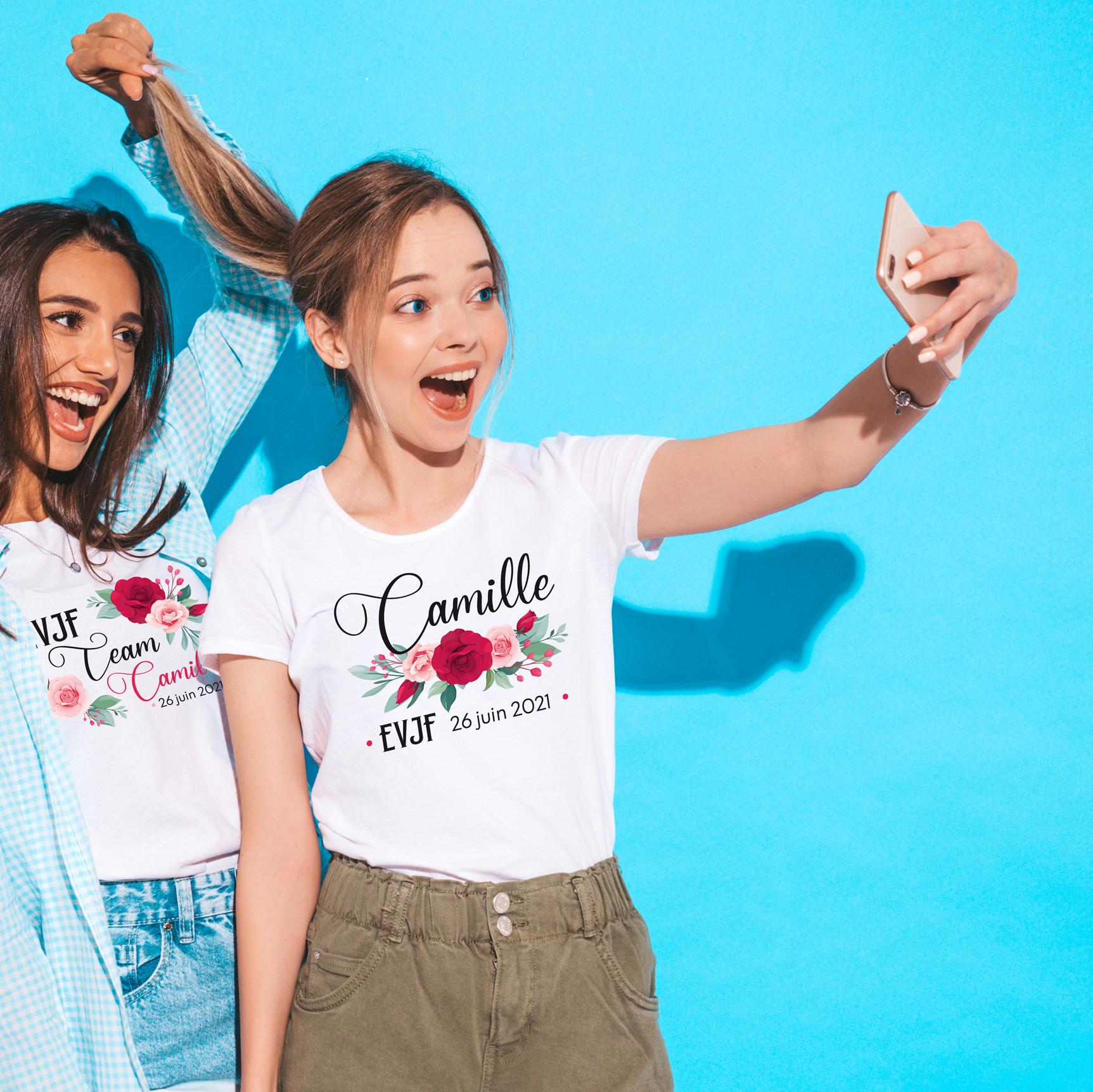Collection Tee-shirts EVJF 2021